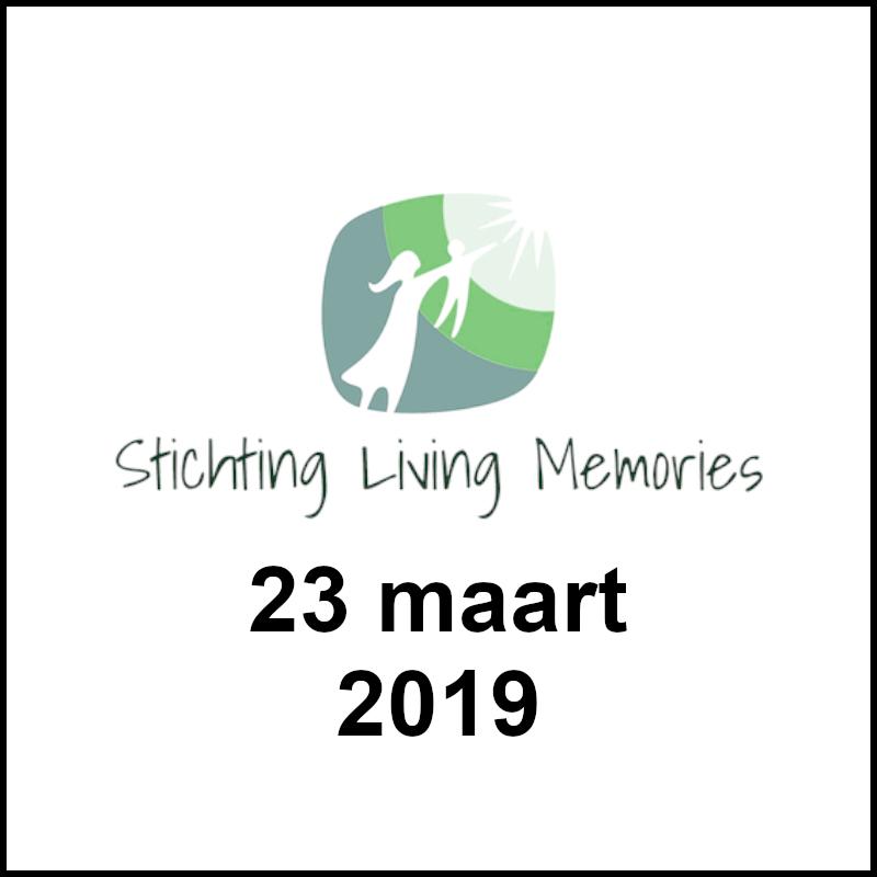 Spinnen voor Stichting Living Memories!