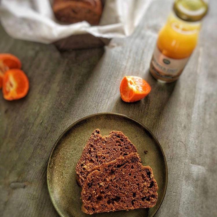 Mandarijn Cake met Gembersap