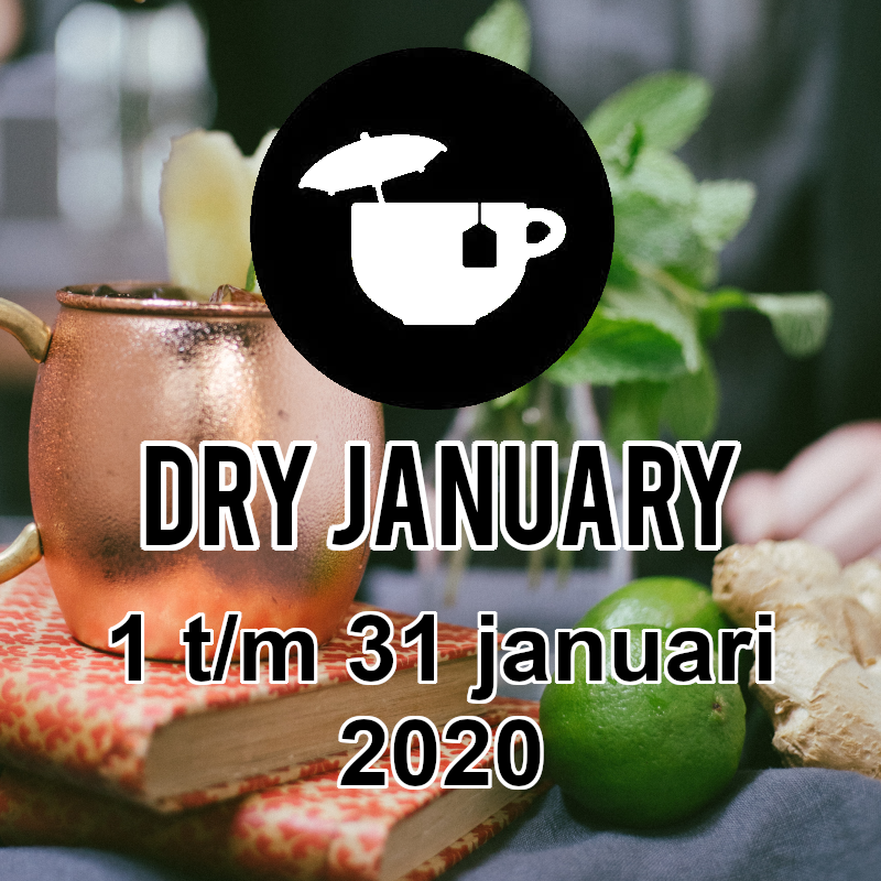 Alcoholvrije gembersap cocktail het ideale drankje tijdens Dry January!