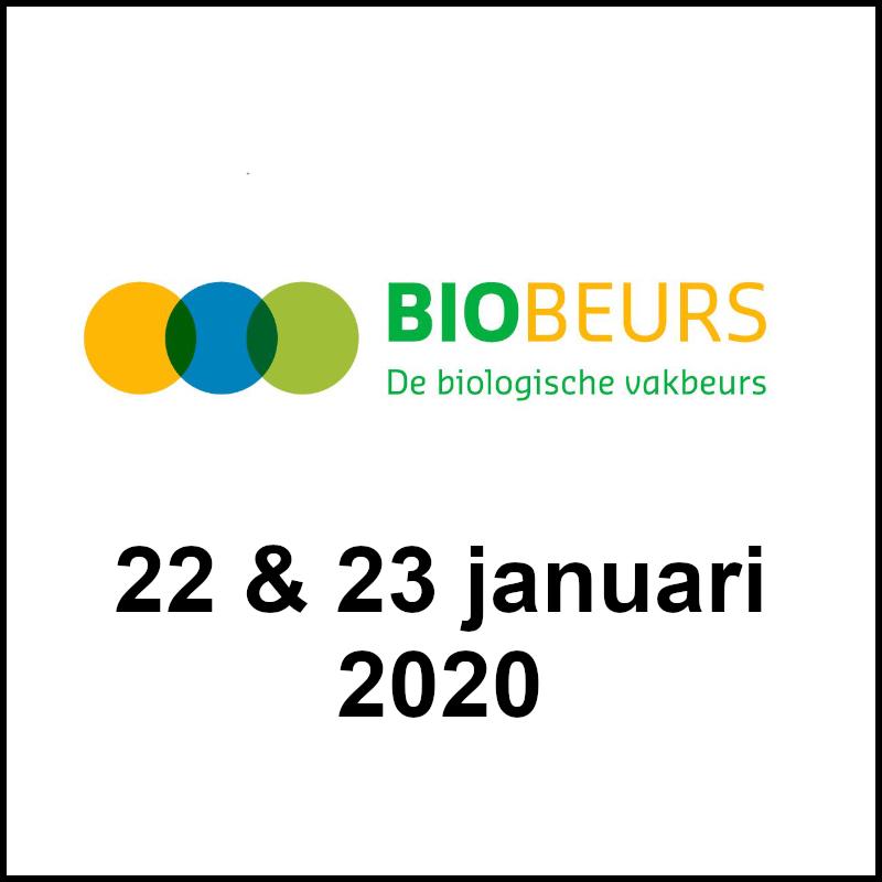Biologische gembersap op de Bio Beurs in Zwolle!